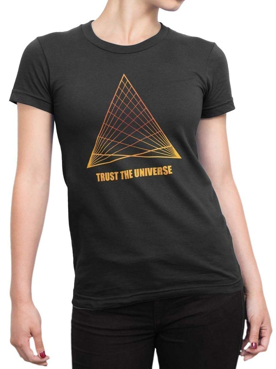2050 Universe T Shirt Front Woman