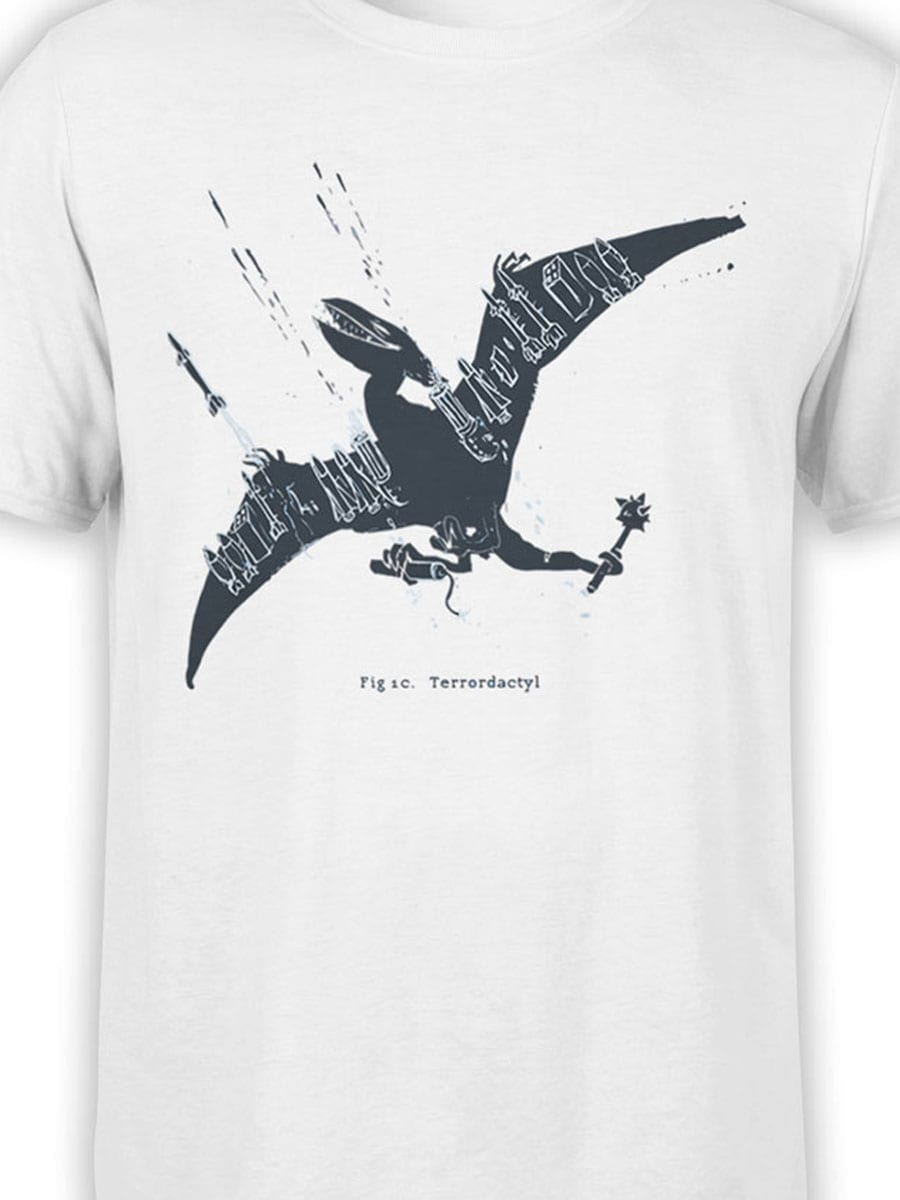2052 PteroTerro T Shirt Front Color