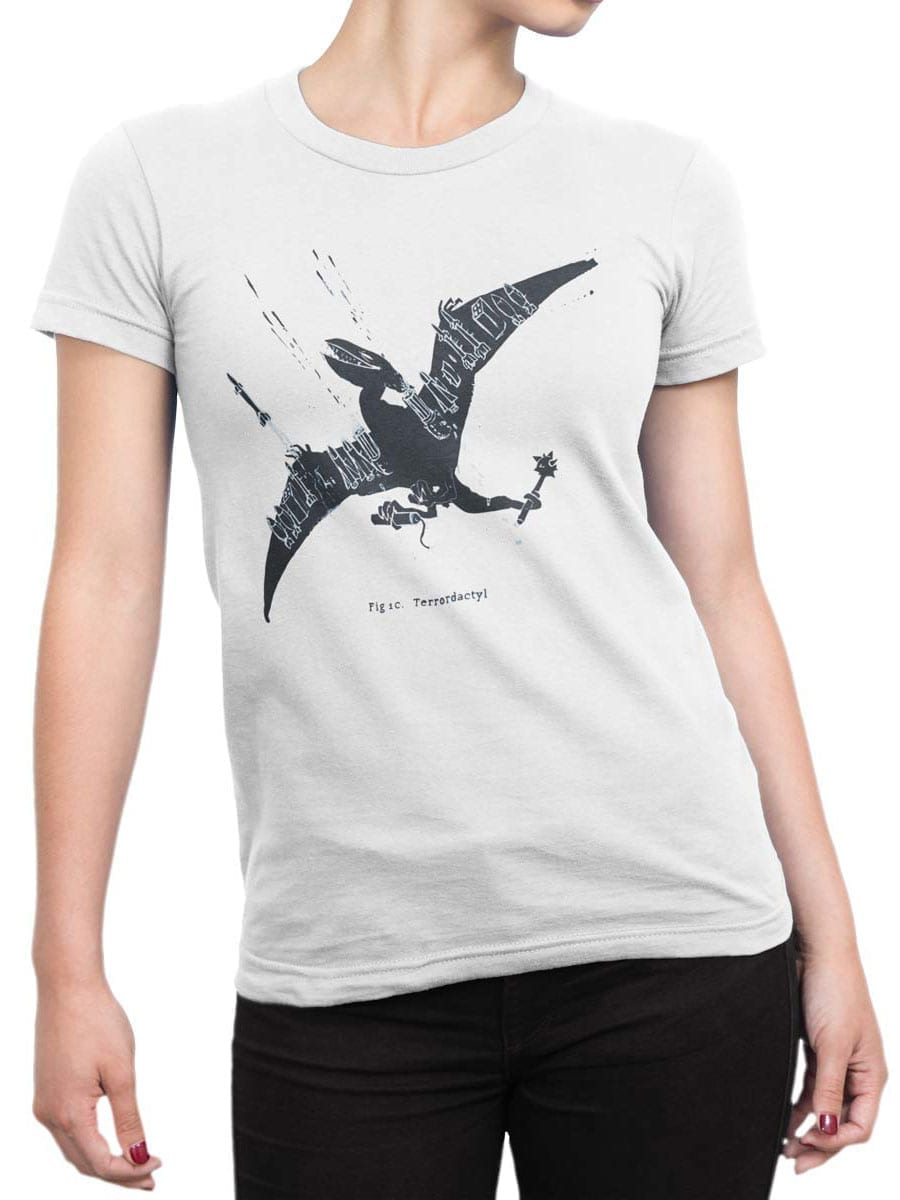 2052 PteroTerro T Shirt Front Woman