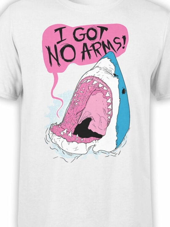 2055 No Arms T Shirt Front Color