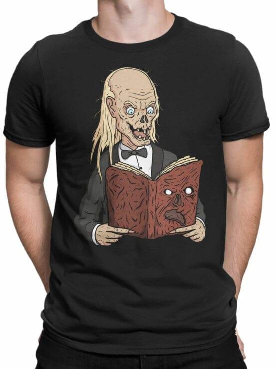 2057 Book T Shirt Front Man
