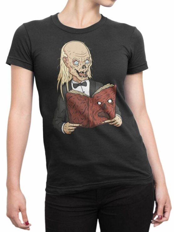 2057 Book T Shirt Front Woman