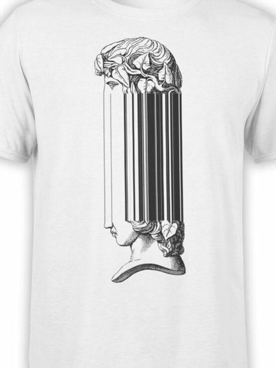 2062 Dante Head T Shirt Front Color
