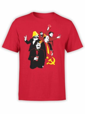2063 Communismus T Shirt Front