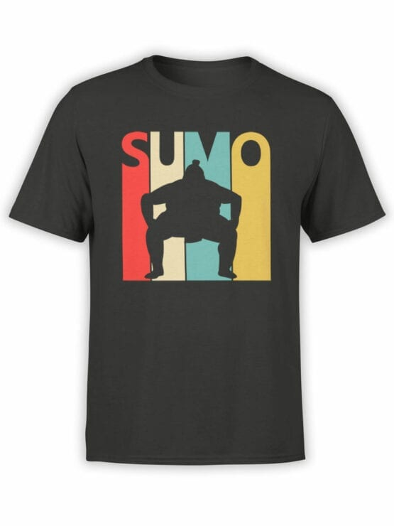 2064 Sumo T Shirt Front