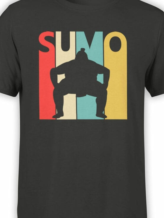 2064 Sumo T Shirt Front Color
