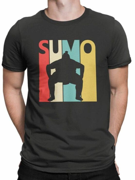 2064 Sumo T Shirt Front Man