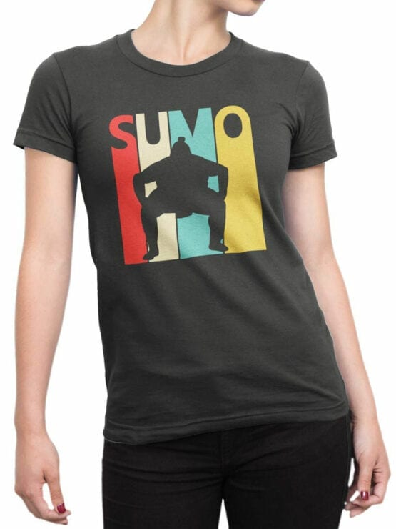 2064 Sumo T Shirt Front Woman