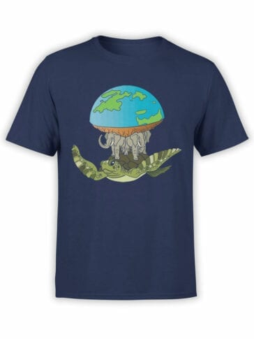 2065 Real Earth T Shirt Front