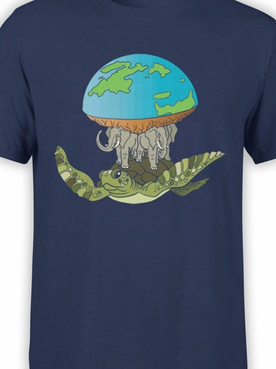 2065 Real Earth T Shirt Front Color