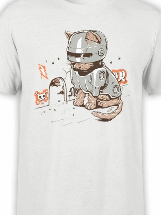 2066 RoboCat T Shirt Front Color
