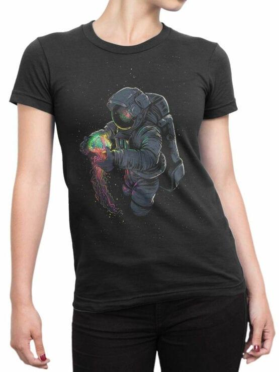 2067 Cosmomedusa T Shirt Front Woman