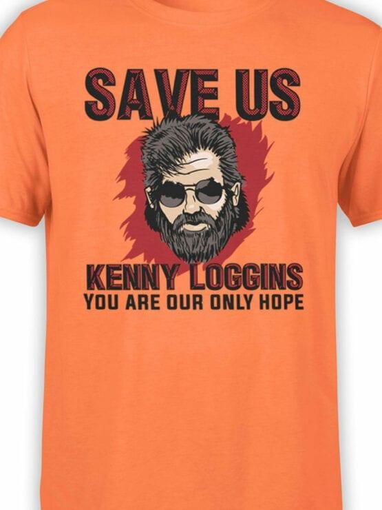 2068 Save Us T Shirt Front Color