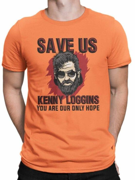 2068 Save Us T Shirt Front Man