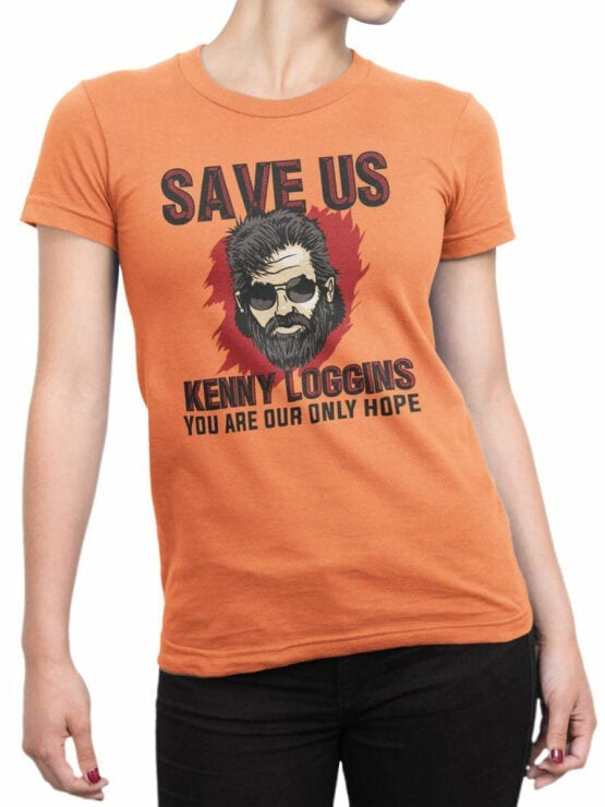 2068 Save Us T Shirt Front Woman