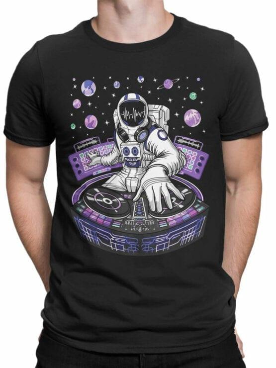 2069 AstroDJ T Shirt Front Man