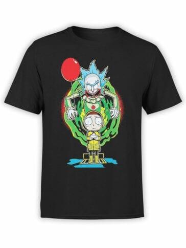 2071 Clown Rick T Shirt Front