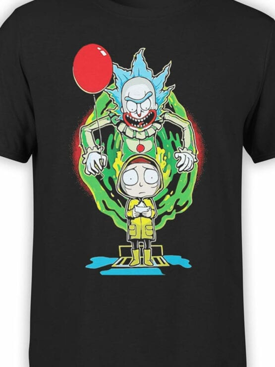 2071 Clown Rick T Shirt Front Color