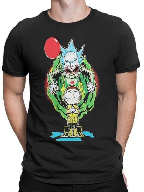 2071 Clown Rick T Shirt Front Man