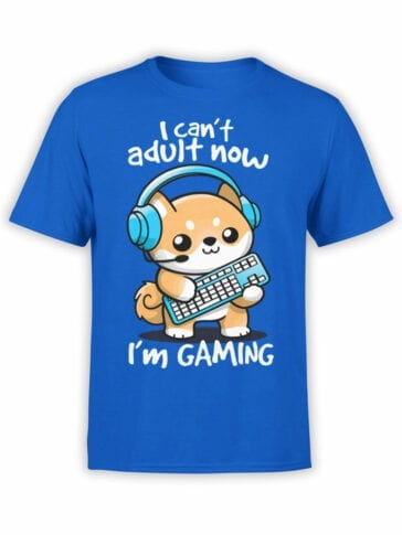 2073 Can Not Adult T Shirt Front
