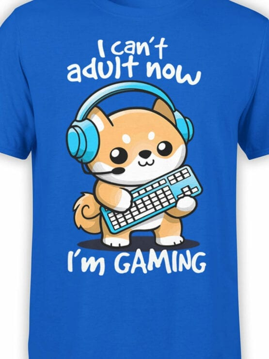 2073 Can Not Adult T Shirt Front Color