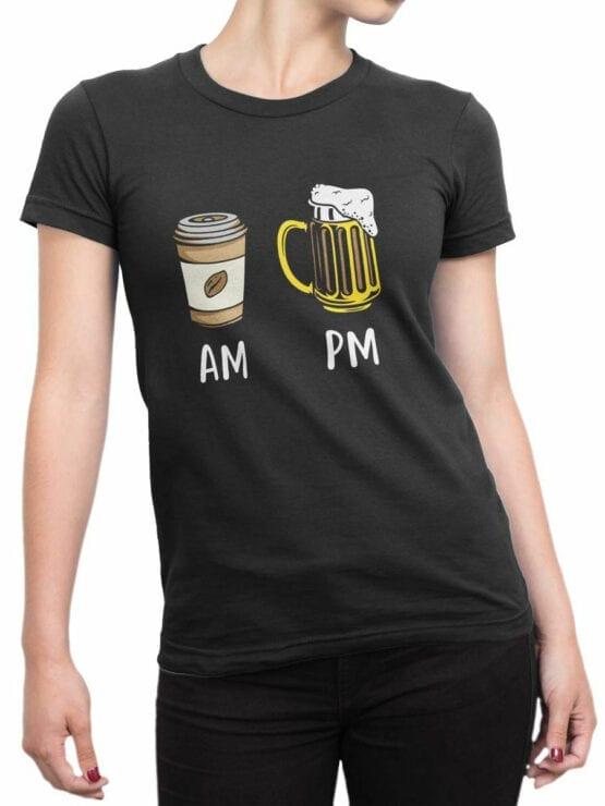 2075 Beverages T Shirt Front Woman
