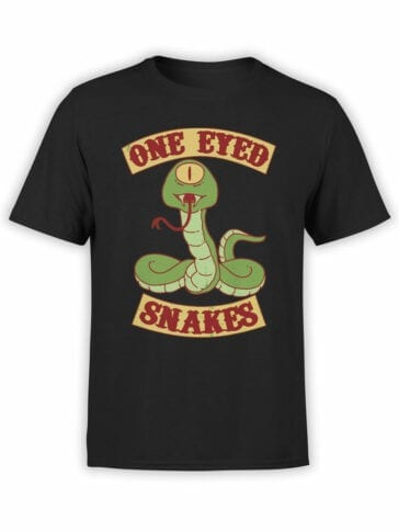 2076 One Eyed T Shirt Front