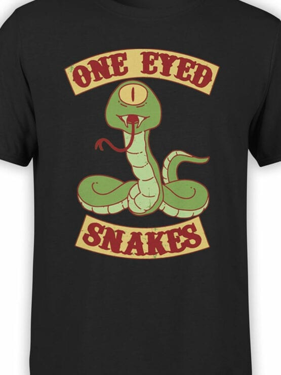 2076 One Eyed T Shirt Front Color