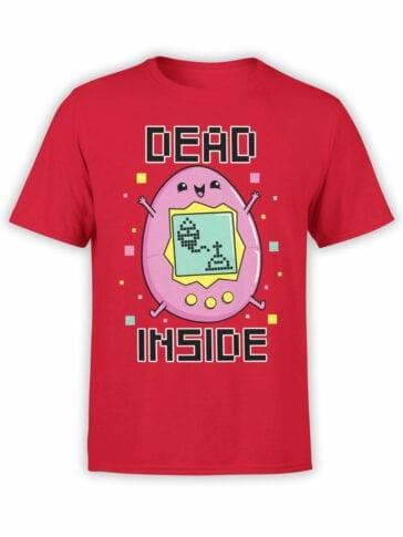 2077 Dead Inside T Shirt Front