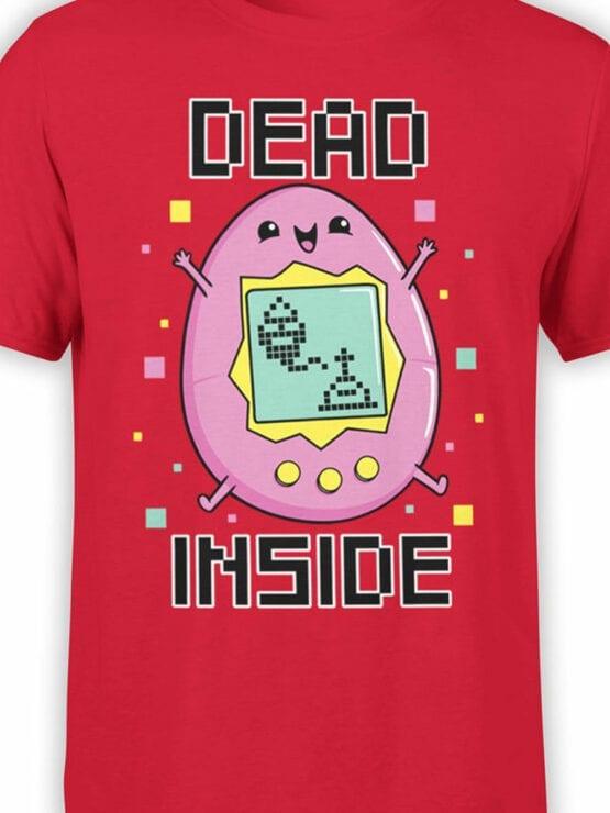 2077 Dead Inside T Shirt Front Color