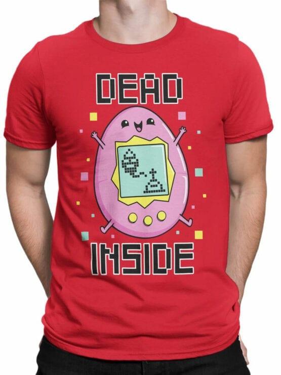 2077 Dead Inside T Shirt Front Man