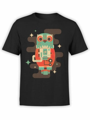 2082 Cosmo Owl T Shirt Front
