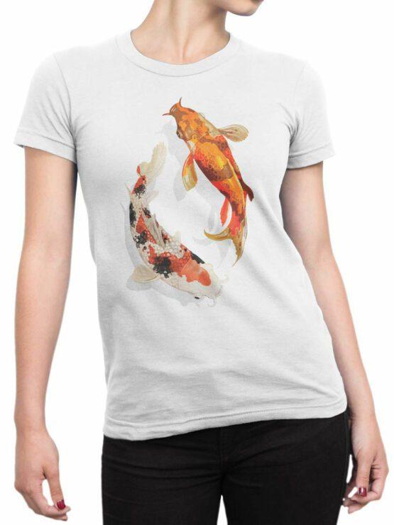 2083 Fish T Shirt Front Woman
