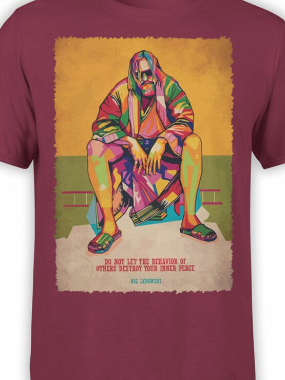 2085 Inner Peace T Shirt copy Front Color