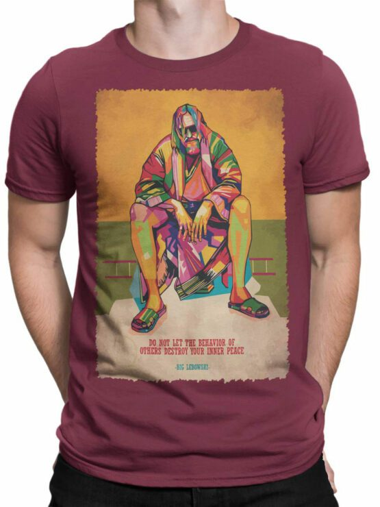 2085 Inner Peace T Shirt copy Front Man