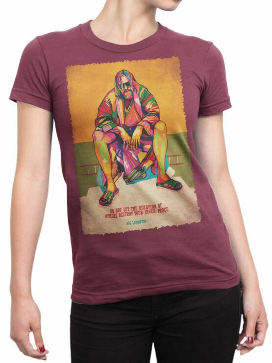 2085 Inner Peace T Shirt copy Front Woman