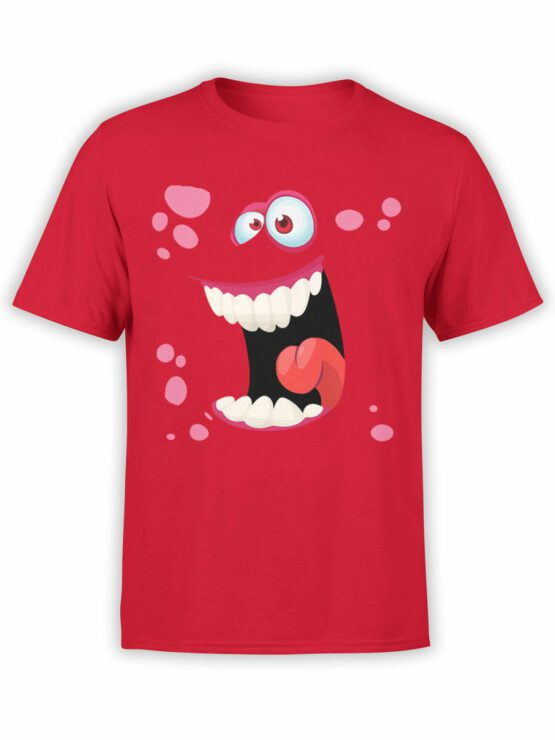 2086 Funny Face Monster T Shirt Front