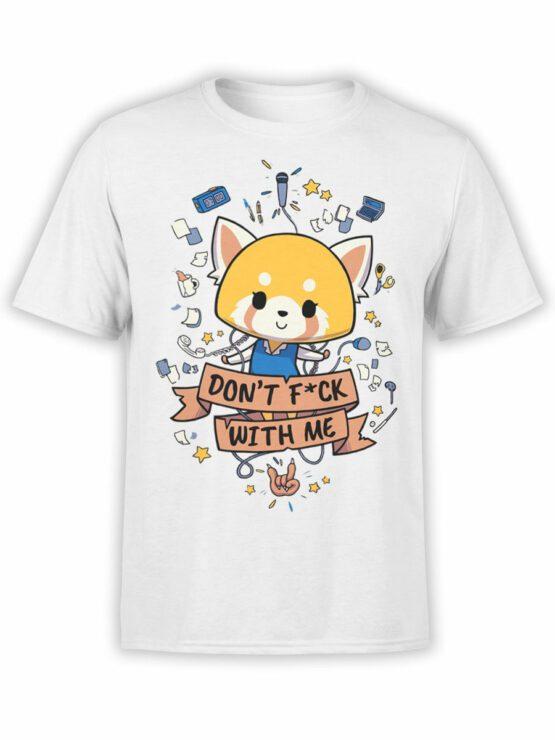 2087 Cute Fox T Shirt Front