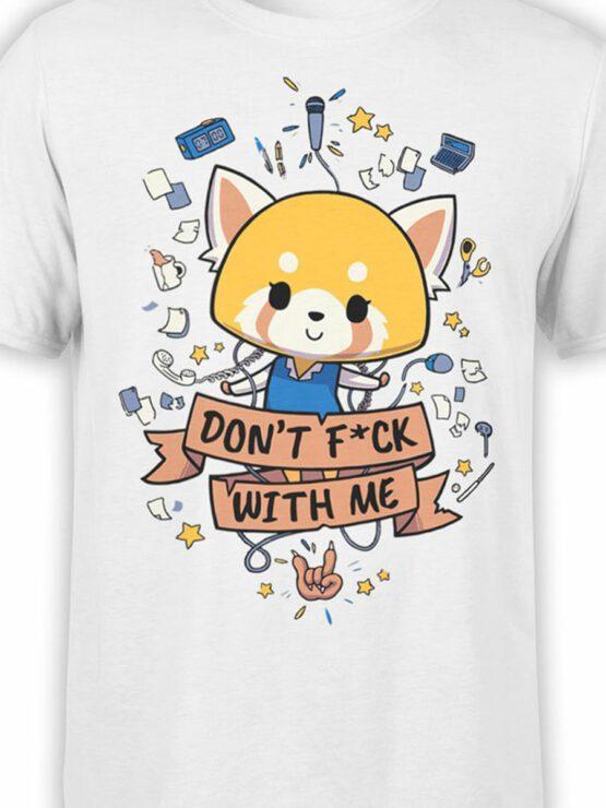 2087 Cute Fox T Shirt Front Color