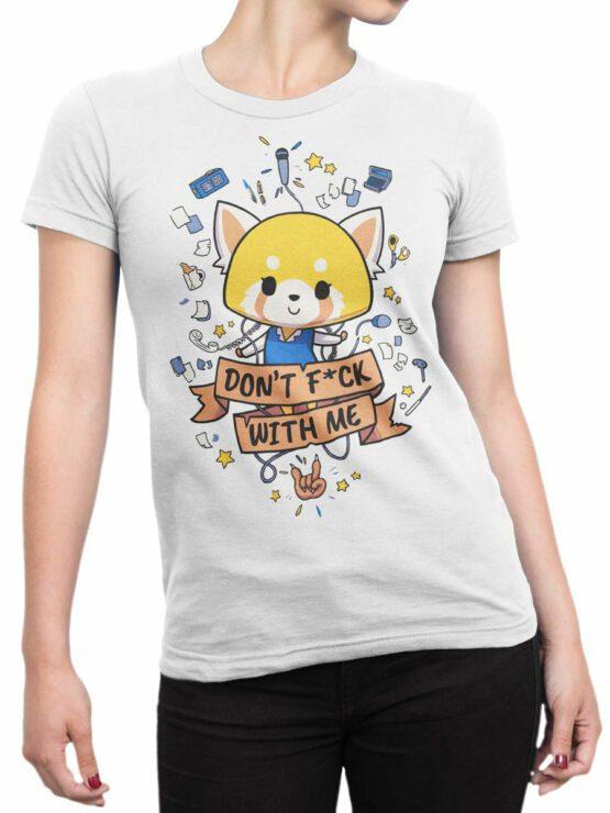2087 Cute Fox T Shirt Front Woman