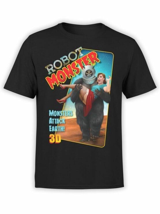 0828 Retro Shirt RoboMonster Front