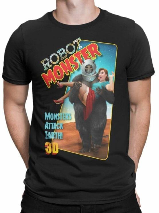 0828 Retro Shirt RoboMonster Front Man