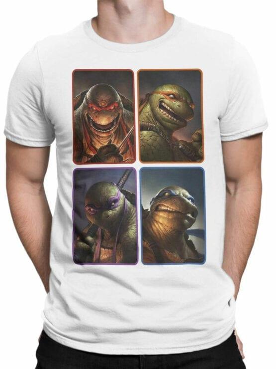 1827 Mutant Ninja Turtles T Shirt Front Man
